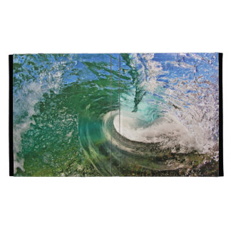 Warped Wave iPad Folio Case