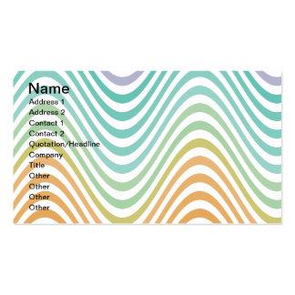 Warped Waves Business Cards