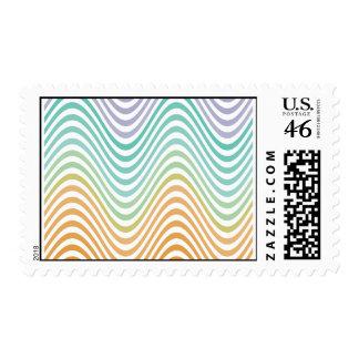 Warped Waves Stamp