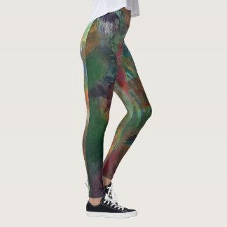 Warped whamp leggings