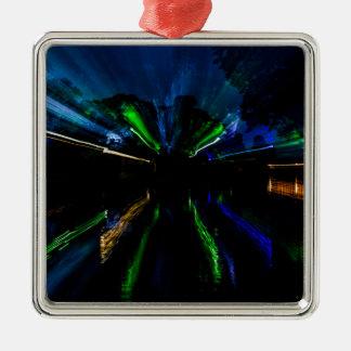 WarpSpeed Metal Ornament