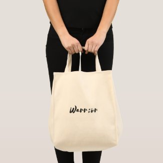 Warr;or Tote Bag