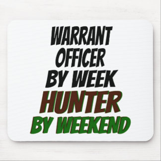 Warrant Officer Hunter Mouse Pad