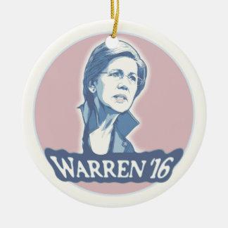 Warren '16 ceramic ornament