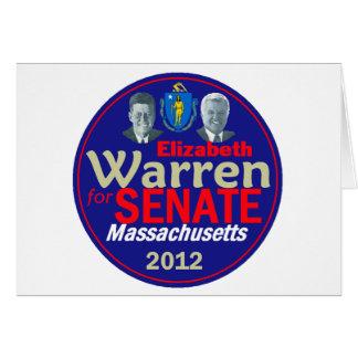 WARREN 2012 CARD