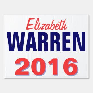 Warren 2016 carteles