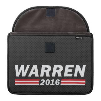 Warren 2016 (Elizabeth Warren) Sleeves For MacBook Pro