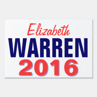 Warren 2016 lawn sign