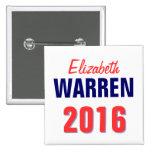 Warren 2016 pin