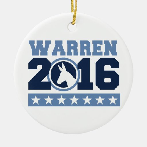 WARREN 2016 ROUND DONKEY - 2016.png Ornaments