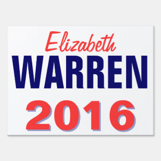 Warren 2016 sign