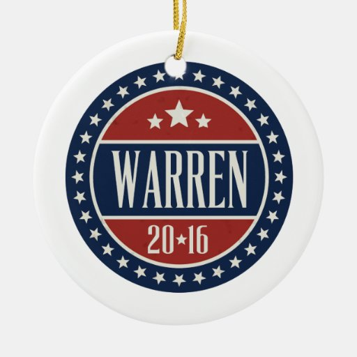 WARREN 2016 STARCIRCLE - 2016.png Christmas Tree Ornament