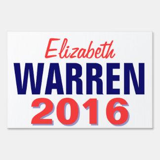 Warren 2016 yard sign