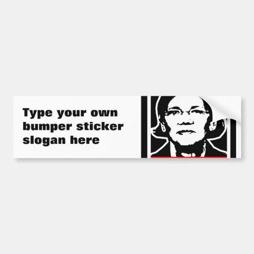 WARREN CAR BUMPER STICKER