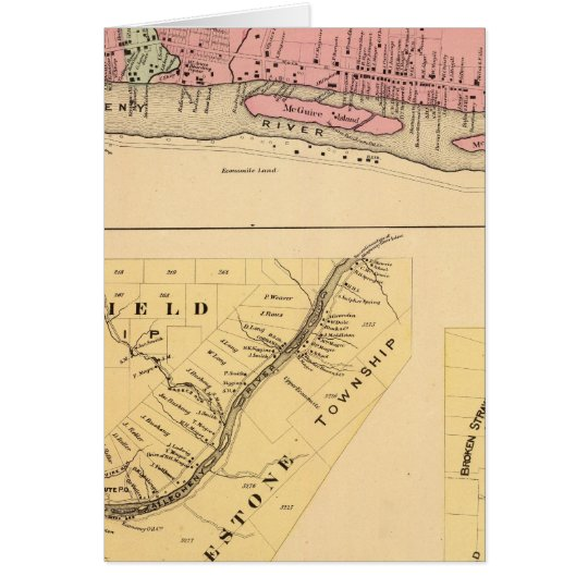 Warren Co oil territory Card