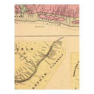 Warren Co oil territory Postcard