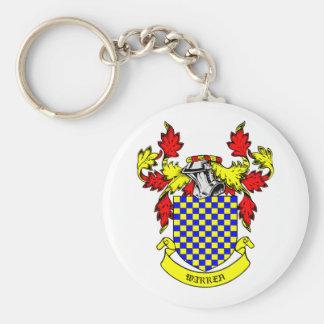WARREN Coat of Arms Keychain