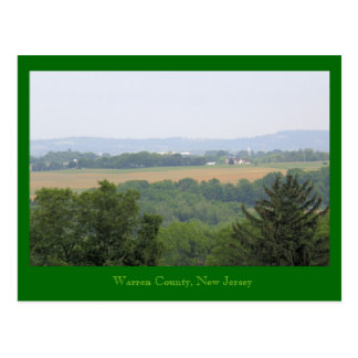 Warren County, New Jersey Post Card