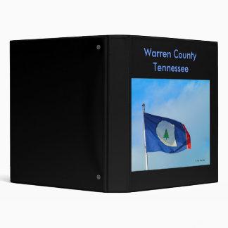 Warren County Tennessee Binder.. 3 Ring Binder