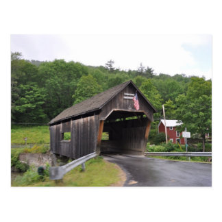 Warren Covered Bridge - Postcard