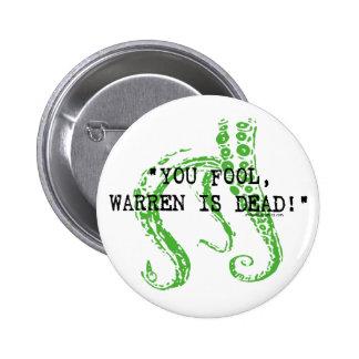 Warren es H.P. muerto Lovecraft Pin Redondo De 2 Pulgadas