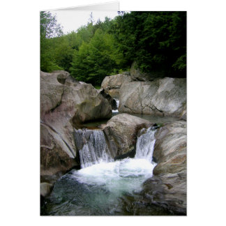 Warren Falls, Vermont Card