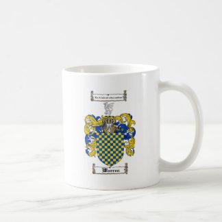 Warren Family Crest Coffee Mug