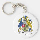 Warren Family Crest Keychain