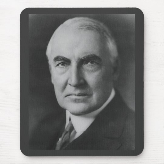 Warren G. Harding 29th President Mouse Pad