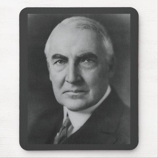 Warren G. Harding 29th President Mousepads
