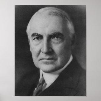 Warren G. Harding 29th President Poster