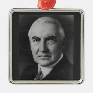 Warren G. Harding Metal Ornament