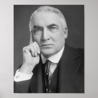 Warren G. Harding Poster