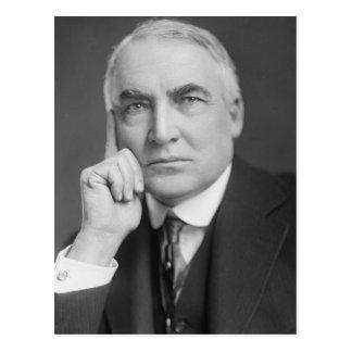 Warren G. Harding Tarjeta Postal