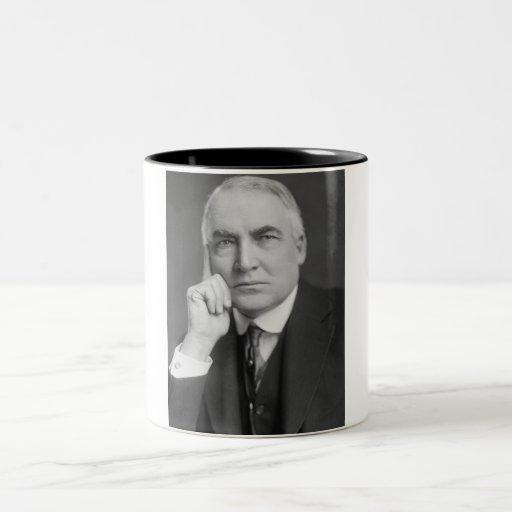 Warren G. Harding Two-Tone Coffee Mug