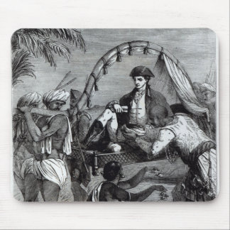 Warren Hastings en la India en 1784 Alfombrillas De Raton