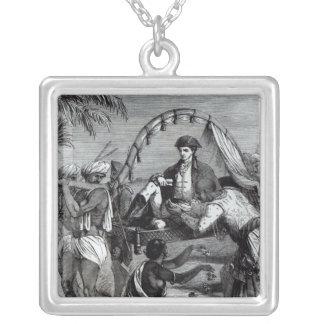 Warren Hastings en la India en 1784 Colgante Cuadrado