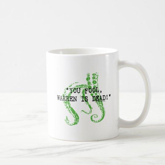 Warren is dead H. P. Lovecraft Coffee Mug