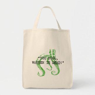 Warren is dead H. P. Lovecraft Grocery Tote Bag