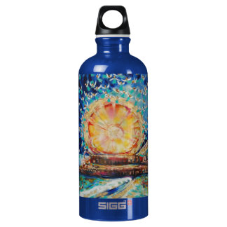 "Warren Long's ""Angels A-Pier"" Aluminum Water Bottle"