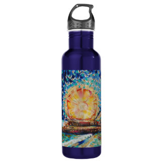"Warren Long's ""Angels A-Pier"" Water Bottle"