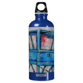 "Warren Long's ""Lifeguard Station 18"" Water Bottle"
