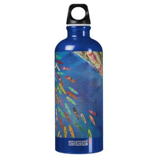 "Warren Long's ""Paddle Out"" Aluminum Water Bottle"