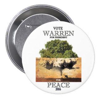 Warren Peace 2016 Button