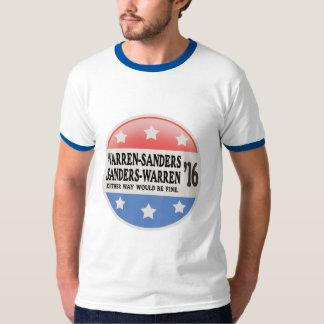Warren - Sanders, Sanders Warren T-Shirt
