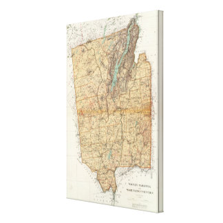 Warren, Saratoga, Washington counties Canvas Print