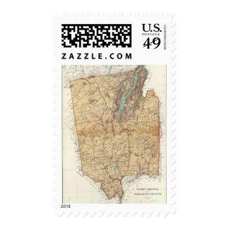Warren, Saratoga, Washington counties Stamp