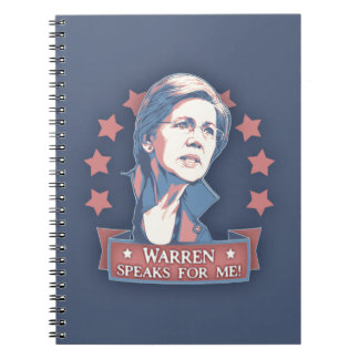 Warren Speaks For Me Notebook