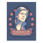 Warren Speaks For Me Postcard