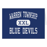 Warren Township - Blue Devils - High - Gurnee Cards